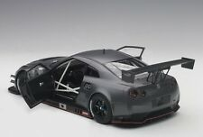 Autoart NISSAN GT-R NISMO GT3 DARK MATT GREY 2015 COMPOSITE MODEL 1/18 Scale New