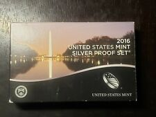 2016 S US Mint Silver Proof Set with Box/COA and Presidents  - US Coins