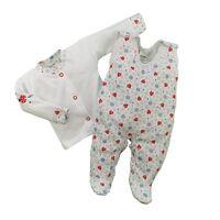 BNWT SPOTTED *Baby Girls Short Sleeve Bodysuit// Top// Vest* 100/% Cotton *0-3//3-6m