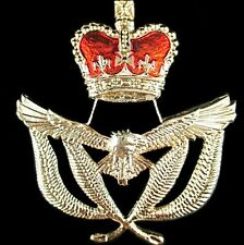 RAAF ROYAL AUSTRALIAN AIR FORCE WARRANT OFFICER WOFF CAP HAT BADGE