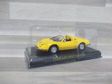 1/43 - Ferrari Dino 246GTS yellow  op blister