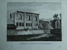 1845 Zuccagni-Orlandini Avanzi di un Anfiteatro d'Augusta Pretoria