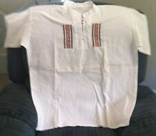 Shirt, Unique Ecuadorian Style Size XL (Shirt #7)