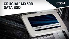 """Crucial MX500 2.5"""" Internal SSD 250GB/500GB/1TB, SATA III 6Gb/s #CT500MX500SSD1"""