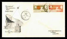 DR WHO 1965 GRENADA FDC INTL TELECOMMUNICATION UNION  C214884