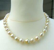 3b5192fc8877 Cadena Perlas Perlas Del Mar Del Sur Collar Único Prlen Collar 4341