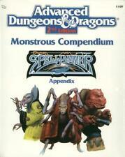 TSR Spelljammer  Monstrous Compendium Spelljammer Appendix #1 VG