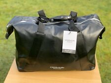 CALVIN KLEIN MENS BLACK HOLDALL DUFFLE GYM WEEKEND Bag Brand New FREE DELIVERY