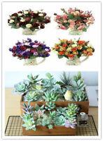 21 Head Bouquet Artificial Silk Roses Wedding Office Home Decoration Flowers NEU
