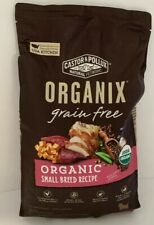 Castor & Pollux Organix Grain Free Organic Small Breed Recipe Dry Dog Food 10 LB
