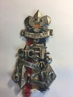 """Scouting  Around the World - Boy Scout Badge / Medal (4-3/4"""" x 2-1/4"""") 1977,"""