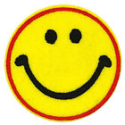 2pcs Novelty Smile Smiley Face Iron On Patches Smiley Face Applique 6cm G67