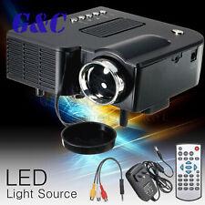 UC28+ Portable LED Projector Cinema Theater Mini Projector USB/SD/AV
