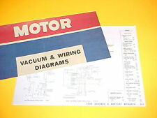 1975 1976 FORD GRANADA GHIA MERCURY MONARCH GRAND GHIA VACUUM+WIRING DIAGRAMS