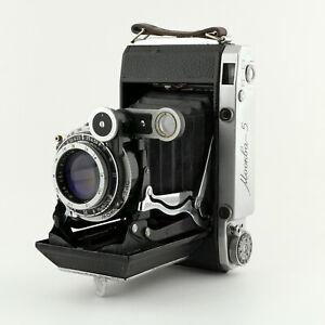Moskva 5 ⭐ Vintage 120 Film Camera ⭐ Medium Format ⭐ USSR ⭐ AS-IS