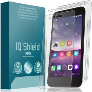IQ Shield Matte  Anti-Glare Full Body & Screen Protector for LG Aristo 2 Plus