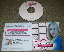 AVRIL LAVIGNE Japan PROMO ONLY CD acetate GIRLFRIEND 1 track MORE Avril LISTED