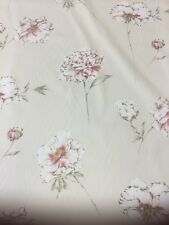 Sanderson Peony Stem Printed Cotton Fabric By The Metre