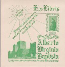 ex-libris Alberto Virginio Baptista (1955)