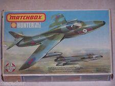 Maquette MATCHBOX 1/72ème HUNTER T.Mk.7/F.6   PK-117/1976