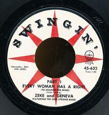 45bs-R&B SWINGIN' 632-Zeke and Geneva