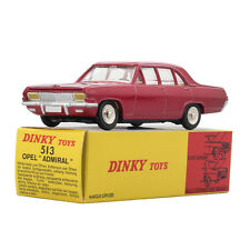 Atlas ALLOY 513 Red Opel Dinky Toys model ADMIRAL 1:43 Diecast Car MODEL