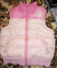 Marks and spencer baby girl 12-18 months fleece lined gilet body warmer