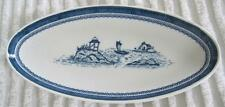 "Syracuse Carefree True China Old Cathay 11.75"" Relish Oval Dish"
