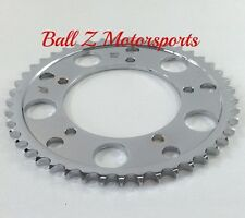 08-17 Hayabusa GSXR 1000 SV1000 Chrome Steel 45 th tooth 530 Pitch Rear Sprocket