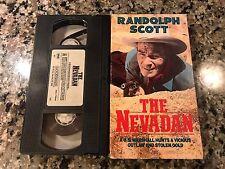 The Nevadan VHS! 1950 Action Western! Brimstone The Lone Gun Smokey Tumbleweed