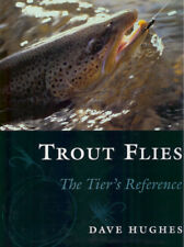 HUGHES DAVE FLY FISHING BOOK TROUT FLIES THE TIER'S REFERENCE jumbo hardback NEW