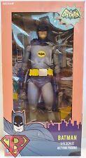 "BATMAN (ADAM WEST) Batman 1966 Classic TV Series 1/4 Scale 18"" Figure Neca 2014"