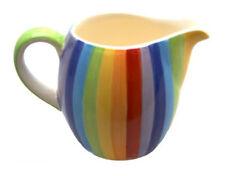 Windhorse ceramica a righe arcobaleno Caraffa latte (piccole) - NUOVISSIMO
