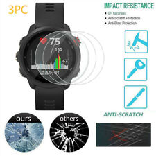 3pcs For Garmin Forerunner 245 Watch Screen HD Protective Film Tempered Glass