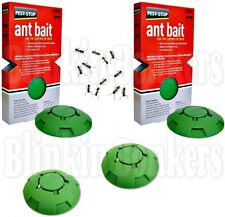 4 X INDOOR INSIDE HOME GEL ANT BAIT STATION TRAP KILLS KILLER STOP DESTROY NEST