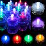 12/24pcs LED Submersible LED Tea Light Candle Flameless Wedding party Decoration