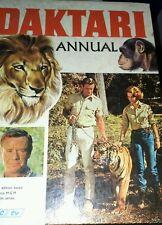 Vintage hardback book. Daktari annual. 1967.