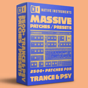 2500+ TRANCE & PSY Patches / Presets for Native Instruments Massive