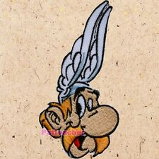 Asterix Head Patch the Gaul Obelix Dogmatix Getafix French Comic Embroidered