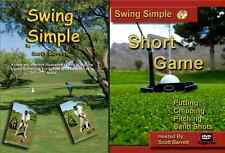 Swing Simple ~ Short Game GOLF INSTRUCTION * VIDEO* DVD