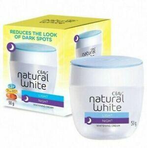 Olay Natural White Light Night Whitening Cream 50g