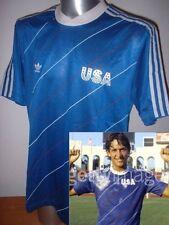USA 1985 ADIDAS M 48/50 BNIB Vintage United States Football Soccer Shirt Jersey