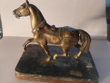 BRONZE ANIMALIER Sculpture en BRONZE Cheval Animalier Belle pose hauteur 10 cm