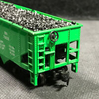 HO Burlington Northern Coal Hopper With Real Coal Load 100% Tested Lot DD 20