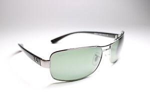 Ray-Ban RB3379 004/58 Sunglasses Black/Green 64 mm