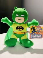 """NWT BATMAN D. C. SUPER FRIENDS GREEN Toy Factory Licensed Plush New With Tags 9"""""""