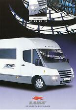 Laika ECOVIP H 720 viaggio mobile PROSPEKT 2003 brochure auto prospetto CAMPER AUTO