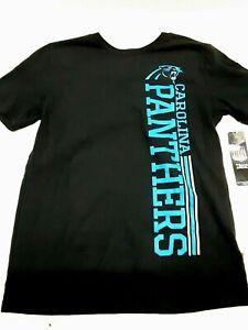 Carolina Panthers NFL Black Youth T-shirt, X-Large (18)
