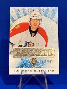 2012-13 Artifacts Jonathan Huberdeau Rookie Card 169/699 Florida Panthers BV $15