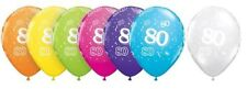 Qualatex Birthday, Adult Round Party Balloons